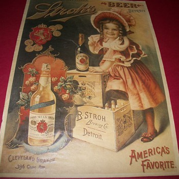 Stroh's Beer Advertising Boy/Girl - Advertising