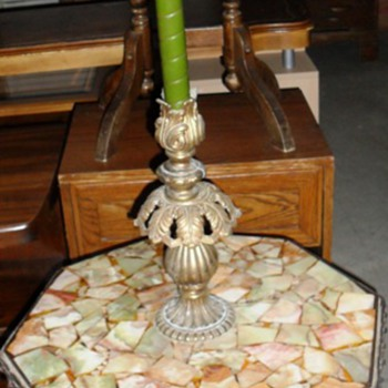 Ornate heavy table need help identifying - Furniture