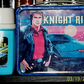 1982 Knight Rider Lunchbox & Thermos - Kitchen