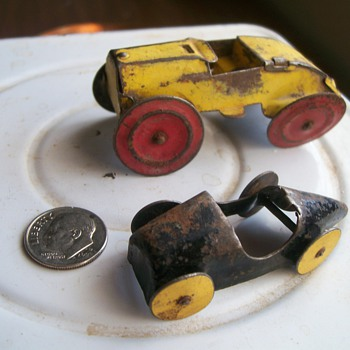Tiny Tin Cars
