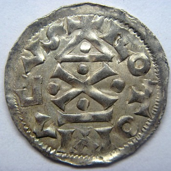 Richard I (the Fearless) Silver Denier of Normandy - World Coins