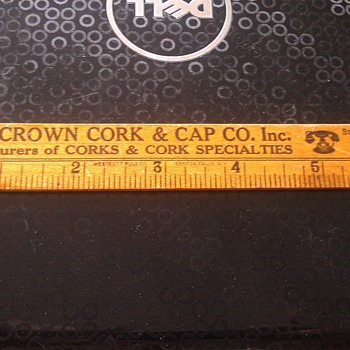 Antique Cork Ruler ??? - Office