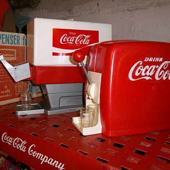 Old Coca-Cola toy dispencers