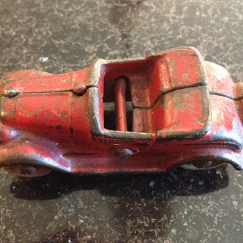 Kilgore Cast Iron Toy Car 728-1 - Model Cars