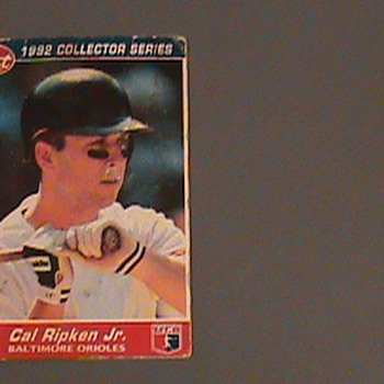 1992-  Post Cereal Cal ripken Jr. Base Ball Card - Cards