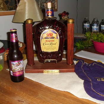 1/2 gal crown royal