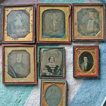 This is the set we have of relatives, marked 1848 only 1 name