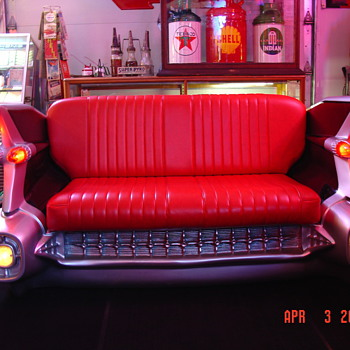 1959...Cadillac Couch - Furniture