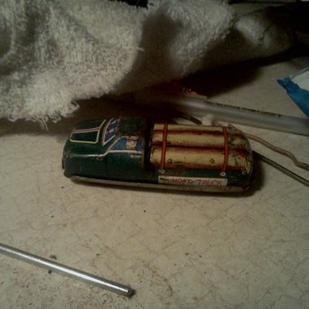 new tin car.  - Model Cars