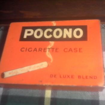 Pocono Cigarette Case