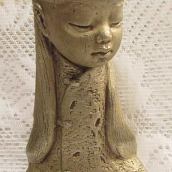 Mid Century Modern Mandarin Collar - Figurines