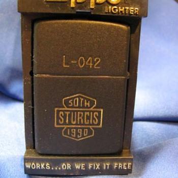 50th Anniversary Sturgis Zippo Lighter - Tobacciana