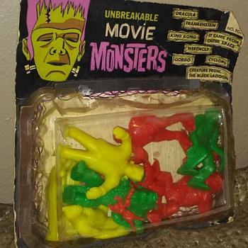 1960's Palmer Monster Figures