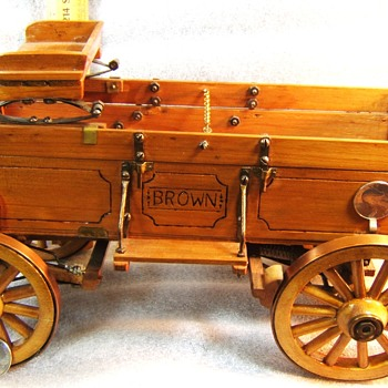 CRAFTSMAN MODEL WAGON - POSSIBLE SALESMAN SAMPLE - Advertising