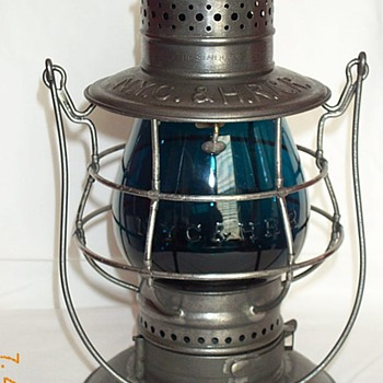 New York Central & Hudson River Railroad Lantern