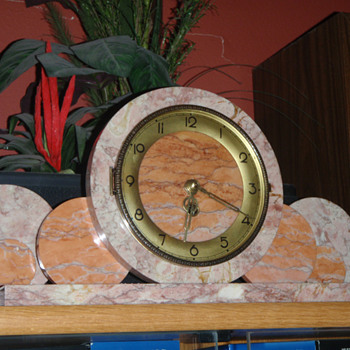 My First Art Deco Clock - The one that got me started - Art Deco