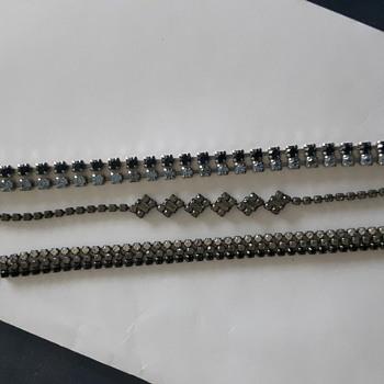 Rhinestone bracelet collection - Costume Jewelry