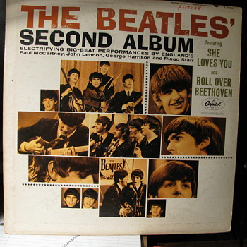 Beatles Second Album - Records