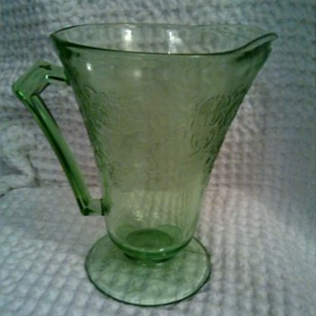 Gorgeous Florentine Pitcher   yay :') - Glassware