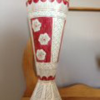 Family Vase - Art Pottery
