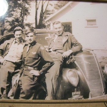 MY DAD AND TWO ARMY BUDDIES ON LEAVE