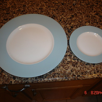 Minton China - Teal Blue  - China and Dinnerware