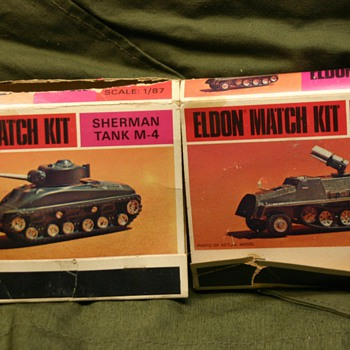 Match kit military models - Model Cars