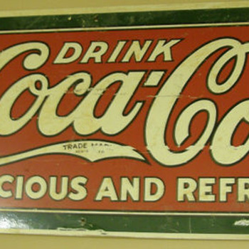 Can someone tell me if this one is original or a reproduction? - Coca-Cola