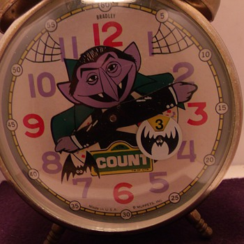 "The ""Count Von Count"" Animated Alarm Clock - Clocks"