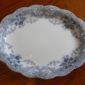 Johnson Bros England Venetian Serving Plate - China and Dinnerware