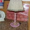nice candle stick table lamp