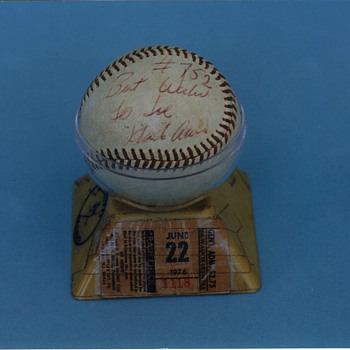 Hank Aaron's 752nd Home Run Ball. - Baseball