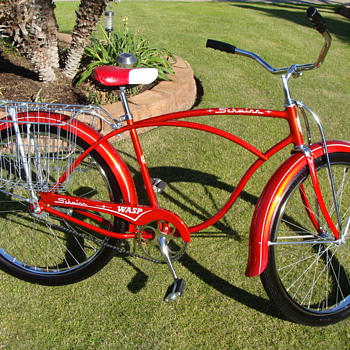 Kevin's Unrestored 1964 Schwinn Wasp Newsboy's Special Survivor! - Sporting Goods