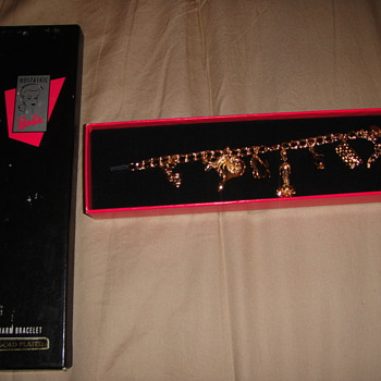 Gold Plated Barbie Charm Bracelet-Valuable??? - Dolls