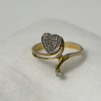 Diamond Heart Ring - Fine Jewelry