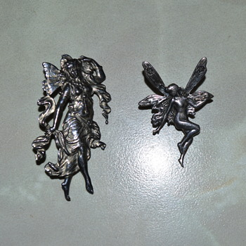 Two fairy brooches - Fine Jewelry