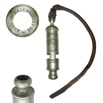 Manchester City Police whistle