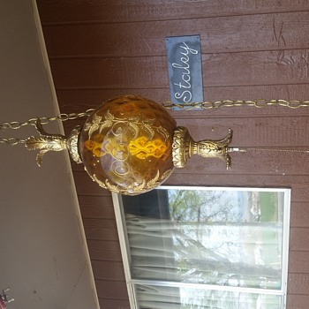 I'm wondering if anyone knows anything about this lamp like time period, where it may have been made things like that.