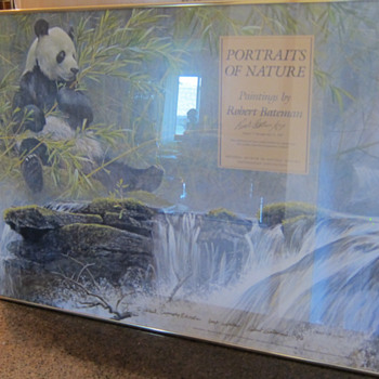 Robert Bateman  -  Portraits of Nature - Giant Panda  -  Signed Gallery Poster - Posters and Prints