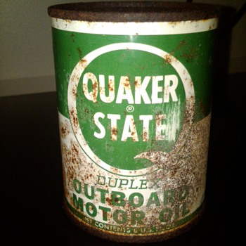 Quaker State outboard oil