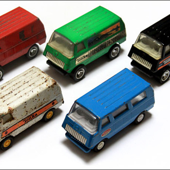 70's Tonka vans collection - Model Cars