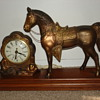 Carnival horse clock