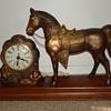 Carnival horse clock