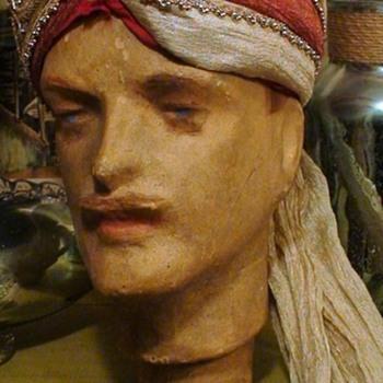 Aladdin/Sheik/ Genie/Arabian Nights Turban Handmade