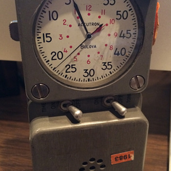 BULOVA Portable Timer - Advertising
