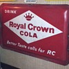 Drink Royal Crown Cola Better Taste Calls For RC...Robertson 10-57