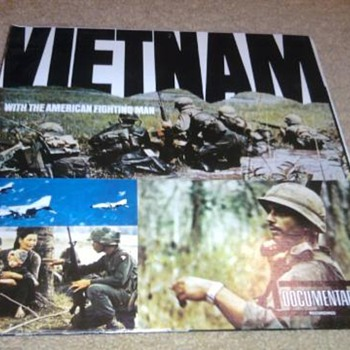 Vietnam LP...very rare and in NM- condition - Records