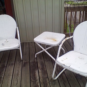 Four year search is over for my motel chairs & table!