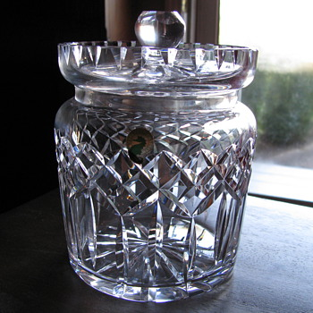 Waterford Biscuit Barrel - Glassware