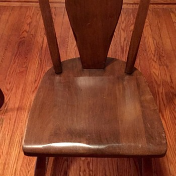Old Wooden Chair What is it? - Furniture